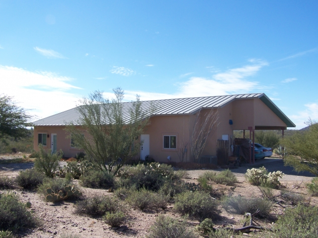 Near tucson arizona 85739 listing 20092 green homes for Az cabins for sale