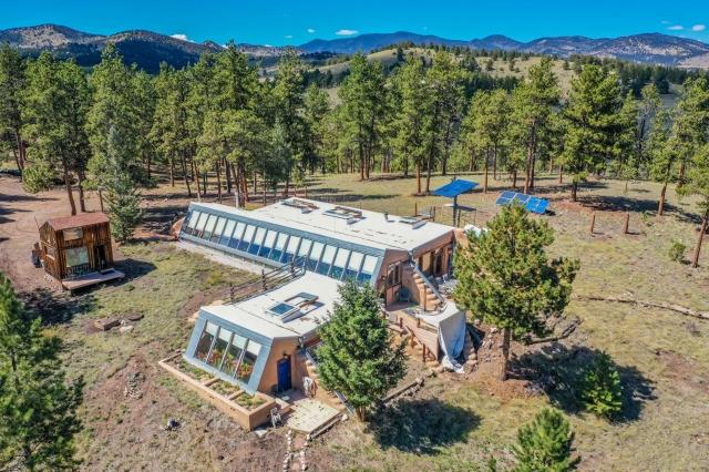 Green Homes for Sale - Guffey, Colorado Green Home