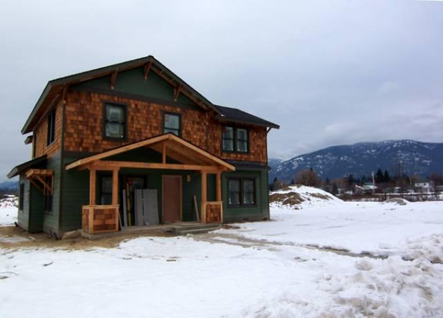 Sandpoint Idaho New Home Contruction