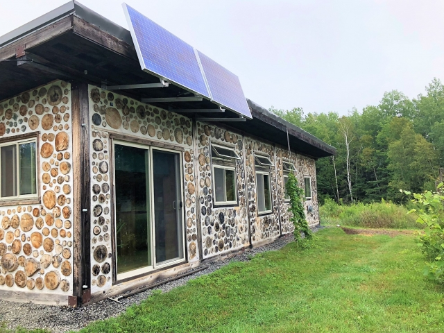 Unity maine 04988 listing 20397 green homes for sale for Cordwood house cost