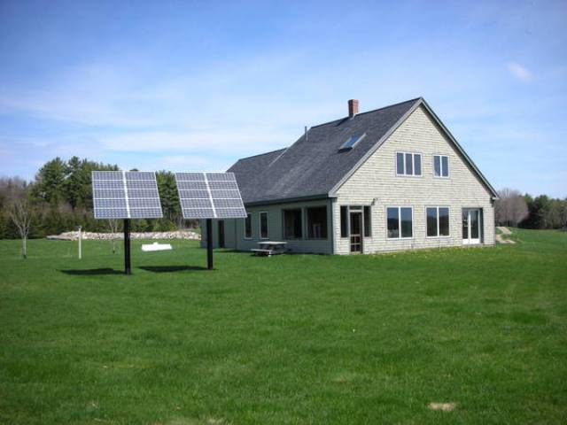 Green Homes For Whitefield Maine Home