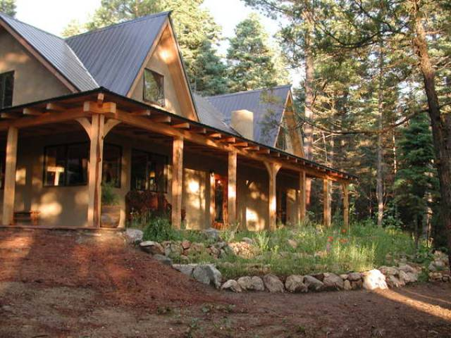 Taos new mexico 87514 listing 18963 green homes for sale for Territorial style house plans